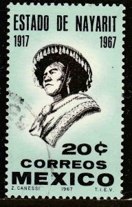 MEXICO 978, 50th Anniversary of Nayarit Statehood Used  VF. (538)