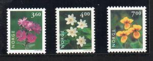 NORWAY - FLOWERS - 1999 -