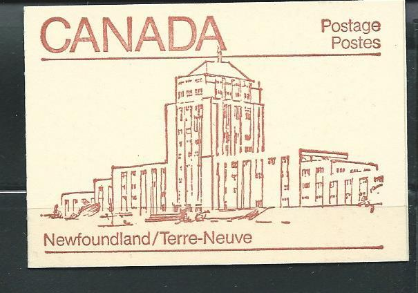 Canada 946a BK82 1982-5 Maple Leaf booklet MNH