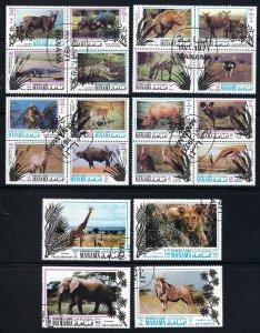MANAMA Mi BK514-533A CTO   BIN $3.50  MAMMALS