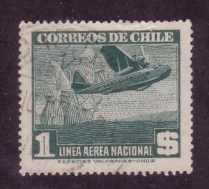 Chile Sc. # C117 Used Airplanes