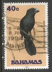 BAHAMAS 715 VFU BIRD R13-134-2