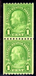 MALACK 604 SUPERB OG NH, Pair,  Very tough to find t..MORE.. w3724