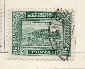 Turkey 1929-30 Early Issue Fine Used 2.5k. 272043
