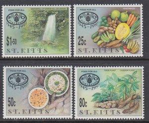 St Kitts 402-405 MNH VF