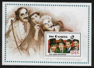 Gambia #776 MNH S/Sheet - The Marx Brothers