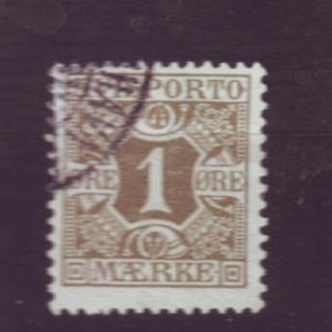 J3250 JL stamps 1907 denmark used #p1 $4.00v newspaper