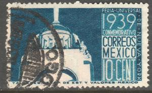 MEXICO 746, 10c New York Worlds Fair. Used. VF. (472)