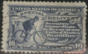 USA Scott E11 Used Perf 11 Unwatermarked special delivery CV$0.75