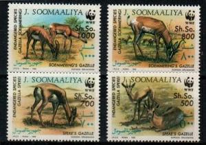 Somalia Scott 607-10 Mint NH (Catalog Value $21.00)