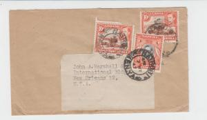 KUT TO USA 1947 DUAL RATED COVER 10c+10c+20c (SEE BELOW