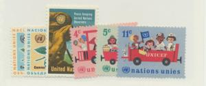 United Nations (New York) Scott #158 To 163 From 1966, Mint Never Hinged MNH ...