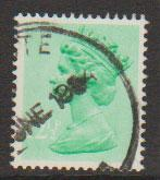 GB Machin  SG X899Ea 12½p 1 band at Left