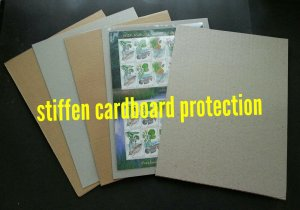 *FREE SHIP* OPP Plastic Sleeve Size [4.5 x 13] suitable for FDC (40 pcs/pack)