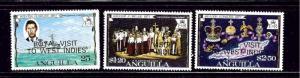 Anguilla 297-300 MNH 1977 Overprints