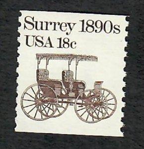 1907 Surrey F-VF MNH Transportation Coil Single