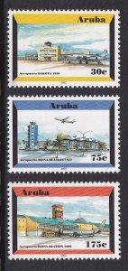 Aruba   #212-214  MNH   2002  airport