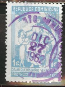 Dominican Republic Scott RA13b used Postal tax 1950