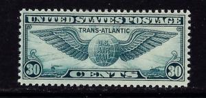 U S C24 small hinge remnant 1939 Airmail
