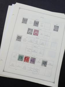 EDW1949SELL : FIJI Very clean Mint & Used collection on album pages. Cat $253.00
