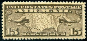 HERRICKSTAMP UNITED STATES Sc.# C8 High Quality Stamp w/ PSE Cert Grade 98 NH