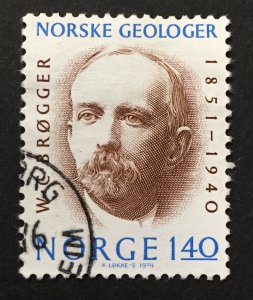 Norway 1974  #642, Geologists, Used.