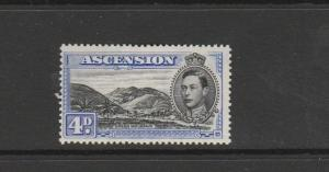 Ascension 1938  P13.5, 4d MM SG 42c