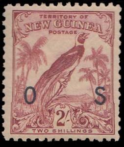 New Guinea Scott O34 Mint never hinged.