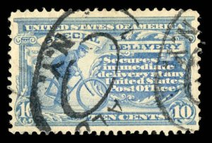 USA E8 Used New York Cancel