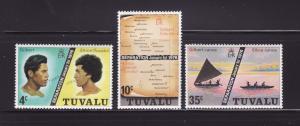 Tuvalu 16-18 Set MNH Various (B)