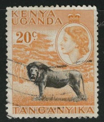 Kenya Uganda and Tanganyika KUT Scott 107 used