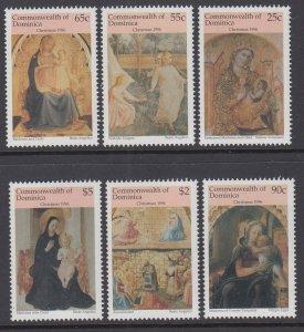 Dominica 1901-1906 Christmas MNH VF