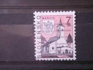 SLOVAKIA, 1995, used 7k, Scott 222, Castles & Churches
