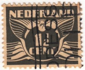 Netherlands, Scott # 167 (2), Used