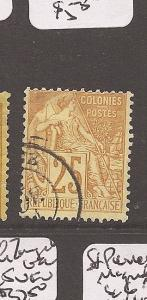 French Colonies SC 53 VFU copy 2 (6ayc)