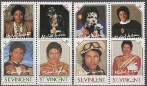 St Vincent #894-7 MNH CV $6.70  (S812)