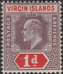 British Virgin Islands, #30 Unused  From 1904