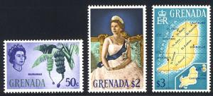 HALF-CAT BRITISH SALE: GRENADA #215-29 Mint