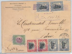58605  - GUATEMALA  - POSTAL HISTORY: COVER to FRANCE - 1903 - VERY NICE!! birds