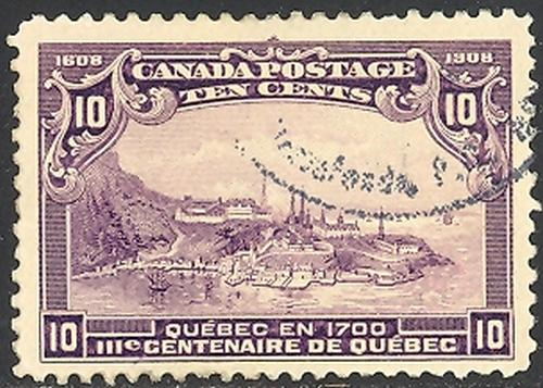 Canada #101  Used VF  CDS-    Lakeshore Philatelics  LSP101e