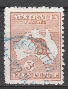 AUSTRALIA 1913 KANGAROO 5D 1ST WATERMARK