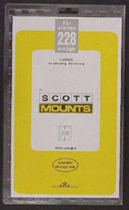Scott/Prinz Pre-Cut Souvenir Sheets Small Panes Stamp Mounts 152x228 #1008 Black