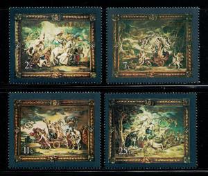 MALTA 1979 MNH SC.530/533 Tapestries