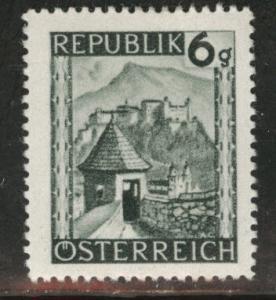 Austria Scott 458 MH* stamp from 1945-46 set