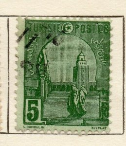 Tunis 1906 Early Issue Fine Used 5c. NW-114592