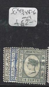 LABUAN (P1303B)  QV  SG 43, 45-6   MOG