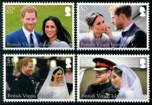 HERRICKSTAMP NEW ISSUES VIRGIN ISLANDS Royal Wedding Prince Harry