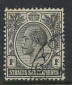 Straits Settlements George V  SG 218 spacefiller Used