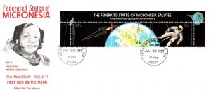Micronesia, Space, Worldwide First Day Cover