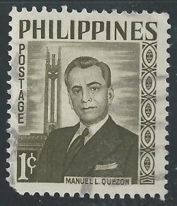 Philippines #812 1c Manuel Quezon